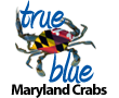 True Blue Maryland Crabs Logo
